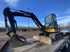 2015 John Deere 50G mini-excavator, Sn 1FF050GXTEH282017, 1,177 hours