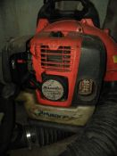 Lot of (2) Backpack-style power blowers