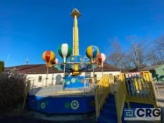 Samba Tower 360 degree spin tower (Passenger cars, seats, and baskets in storage on the premises,