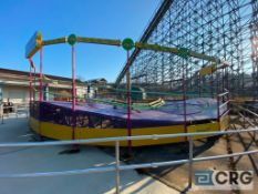 Tilt A Whirl circular ride (Passenger cars, seats, and baskets in storage on the premises,