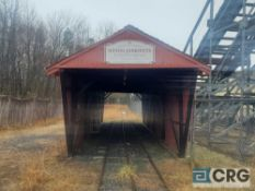 Covered Bridge on railway
