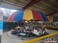 Hampton Cars and Trucks Umbrella circular Ride