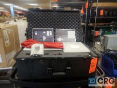 Leica MZ75 microscope with all accessories in portable protective case