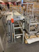 Lot of assorted 80/20 aluminum enclosures and extruded aluminum T-slot structural components