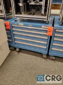 Lista 5 drawers portable under counter steel cabinet 24 in. X 28 in.
