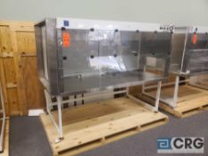 "Terra Universal Value Line Laboratory Hood mn 2100-89 83""w x 45""d x 65""h Powder Coated floor"