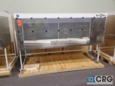 "New Out of Crate Terra Universal Value Line Laboratory Hood mn 2100-90 101""w x 45""d x 65""h Powder"