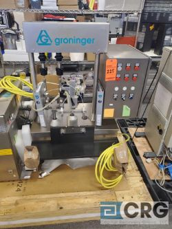 Groninger DFH 022 SN 8021 Precision Filling System