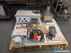 Cozzoli Vacuum Stoppering System SN MVP-130 Controller, Pump, Vacuum Chamber