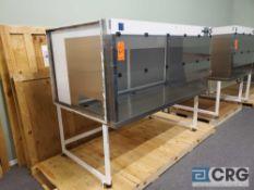 "Terra Universal Value Line Laboratory Hood mn 2100-89 79""w x 45""d x 65""h Powder Coated floor"