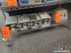 Lot of (4) Test fixtures with control box