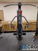 Lot consists of (3) sections of TUFFSTUFF exercise equipment, (1) Apollo 7000 series press machine