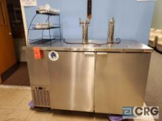 MICRO MATIC m/n MDD-58 S, 3 keg back bar refrigerated beer tap