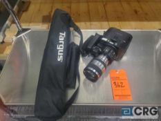 Sony AVCHD MPEG2 SD camera with tripod