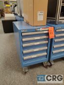 Lista 5 drawers portable under counter steel cabinet 17 in. X 28 in.