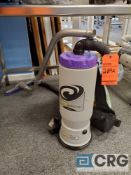 Lot of (1) Pro Team SUPER quartervac and (1) Bissell portable spot cleaner