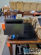Lot of assorted monitors