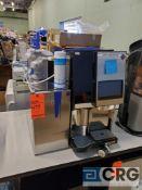 Bunn Sure Tamp Auto 208V Espresso Machine with Bunn Side Refrigerator 120v for Milk