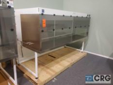 "Terra Universal Value Line Laboratory Hood mn 2100-90 104""w x 45""d x 65""h Powder Coated floor"