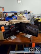 Lot of (3) Apple 27 in. monitors