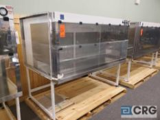 "Terra Universal Value Line Laboratory Hood mn 2100-89 79""w x 45""d x 65""h Powder Coated floor"
