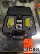 Desco 19794 surface resistance test kit with case