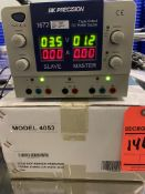 BK Precision 1672 triple output DC power supply