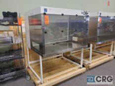 "Terra Universal Value Line Laboratory Hood mn 2100-88 52""w x 45""d x 65""h Powder Coated floor"