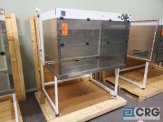 "Terra Universal Value Line Laboratory Hood mn 2100-88 57""w x 45""d x 69""h Powder Coated floor"