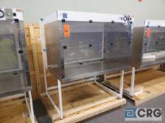 "Terra Universal Value Line Laboratory Hood mn 2100-88 55""w x 45""d x 65""h Powder Coated floor"