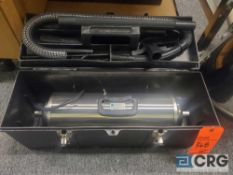 Lot of (2) Terra Universal 5100-00 Microvac portable cleanroom vacuum cleaners