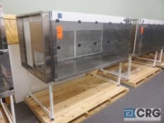 "Terra Universal Value Line Laboratory Hood mn 2100-89 80""w x 45""d x 65""h Powder Coated floor"