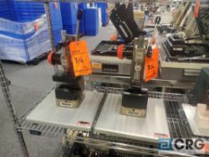Lot of (2) Schmidt Press 5R-03-2015 with custom tooling mounted