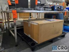 6 ft X 30 in. TerraUniversal m/n 9603-07 S.S. clean room table (LATE REMOVAL)