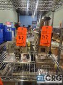 Lot of (2) presses, including Schmidt Press 5R-03-2015; Schmidt Press 5R-03-2011 with custom tooling