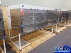 "Terra Universal Value Line Laboratory Hood mn 2100-90 103""w x 45""d x 65""h Powder Coated floor"