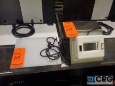 Lot of (2) asst light inspection boxes