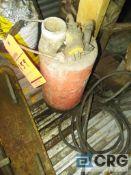 MQ Submersable pump, ST 2065A, 1/2hp, electrical sump