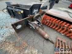 Esco Eliminator skid steer hydraulic hammer attachment, quick connect