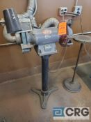 Dayton 10 inch D.E. pedestal grinder, 1 HP, 1725 rpm, 1 phase (LOCATED IN TOOL ROOM MACHINE SHOP)