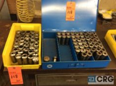 Lot of (80) asst 5C collets (LOCATED IN TOOL ROOM MACHINE SHOP)