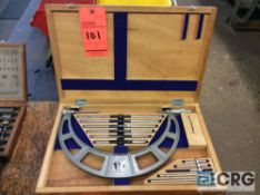 NSK 6-12 inch O.D. micrometer with wood case (LOCATED IN TOOL ROOM MACHINE SHOP)