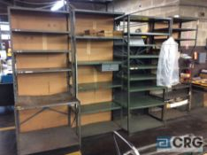 Lot of asst shelving, desks, chairs and misc office furniture (LOCATION: 2ND FLOOR)