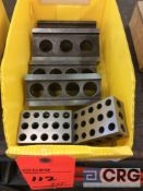 Lot of (2) sets 5 inch parallel blocks and (1) set of 1-2-3 blocks (LOCATED IN TOOL ROOM MACHINE
