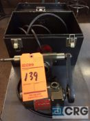 Dumore tool post grinder, mn 11-011, 1/5 HP, 1 phase with steel case (LOCATED IN TOOL ROOM MACHINE