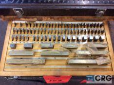 Lot of (3) asst gauge block sets (LOCATED IN TOOL ROOM MACHINE SHOP)
