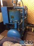 Scales horizontal air compressor, 30 HP motor, 30 psi / 300 psig, 3 phase (LOCATED ON 1ST FLOOR