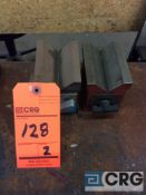 Lot of (2) magnetic V-blocks (LOCATED IN TOOL ROOM MACHINE SHOP)