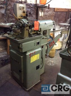 Escomatic Model D2 coil fed, 3/16 max wire dia, with wire payoffs and rotary straighteners