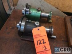 Lot of (2) collet spinners (LOCATED IN TOOL ROOM MACHINE SHOP)